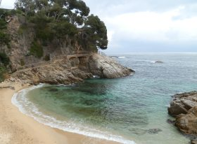 Access to Platja Torretes Costa Brava
